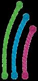 Kong Safestix S 29,2 cm Multicolor_