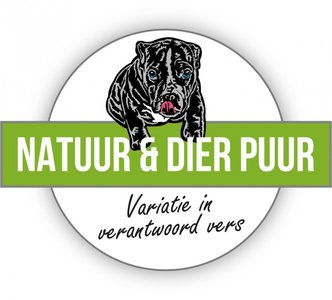 Natuur en Dier Puur mixpakket zonder kip en rund 24x 500 gram