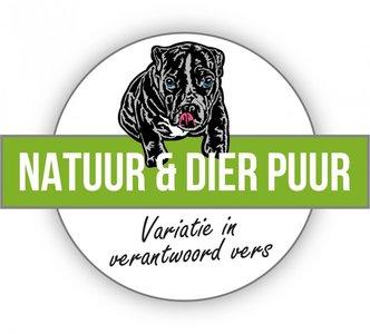 Natuur en Dier Puur mixpakket zonder kip en rund 12x 250 gram