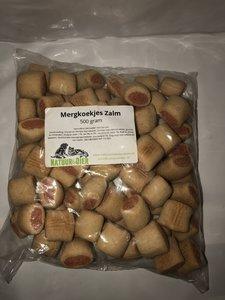 Mergkoekjes Zalm - 500 gram
