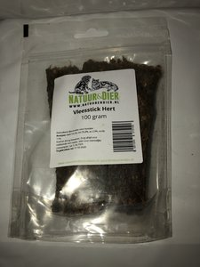 Vleessticks Hert - 100 gram